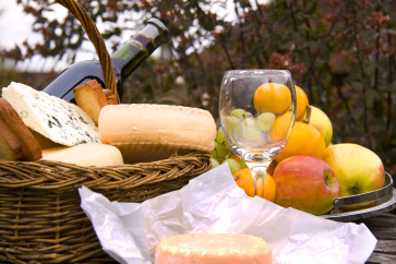 Fruits, fromages